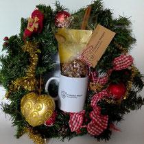 Weihnachtstasse Trüffel Geschenk