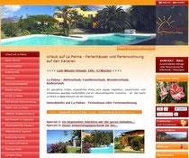 """La Palma Kanaren - """"Finca Tropical"""" Ferienhäuser"""