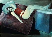 """Lukas Johannes Aigner, """"Ohne Titel"""", Acryl auf Papier, 62x88 cm, 2002/7"""