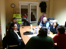 Reunión de Trabajo en la oficina de la asociación