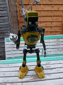 Le robot fini