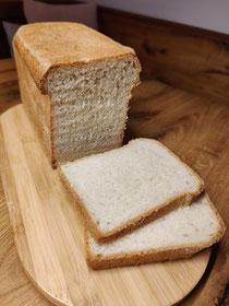 Toastbrot mit Sauerteig