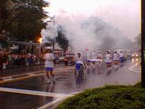 神奈川国体の炬火ランナー