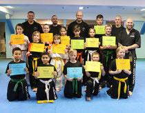 Nachwuchs der Kampfsportschule Düsberg
