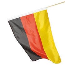 Fahne Deutschland mit Holzstab, wm werbeartikel bedrucken, Werbemittel bedrucken, Werbemittel wm, Fußball Wm 2014, Werbemittel Fußball