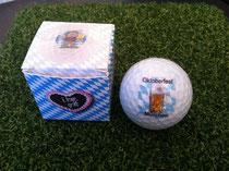 Oktoberfest Golfball, Oktoberfest Golf, Golf Werbemittel, Logo Golfbälle, Golfbälle bedrucken