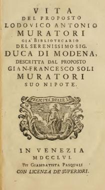 Biografia di Lodovico Antonio Muratori