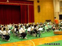 ポップスコンサート・リハーサル