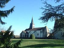 L'église de Pouzy-Mésangy