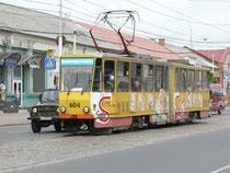 (Straßenbahn in Kaliningrad)