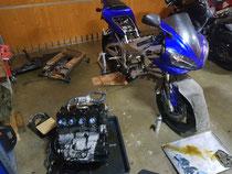 Yamaha R1 RN04 Tauschmotor