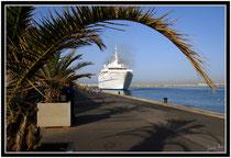 le ferry pour le maroc alméria