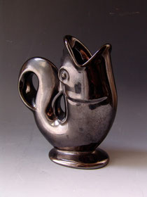 Géza Gorka Fish Vase, 1950s