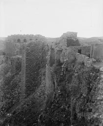 Château de Beaufort en 1913. © Temple de Paris