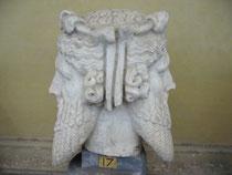 Tête de Janus, Musées du Vatican, Rome. Temple de Paris.