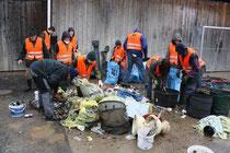 Mülltrennung am Bauhof