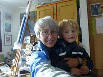 Ulrike Reutlinger (mit Enkel Paul)