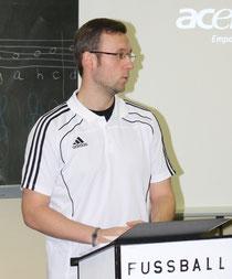 Eröffnung des Anwärterlehrganges durch den KSO Sönke Müller