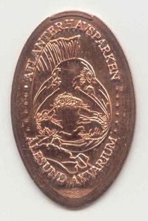 Atlanterhavsparken 5 Euro cent - motief 1