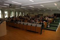 Hörsaal ind er Hochschule Wismar