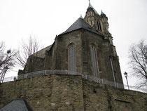 Blick auf die Kirche in Buchholz 2