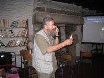 Xavier Grémillet, en conférence au Presbital Kozh le 5 août 2014.