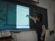 尾根の配置を地図から読み取り示されたパターンの場所を見つける練習