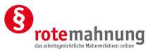Rotemahnung - das arbeitsgerichtliche Mahnverfahren online