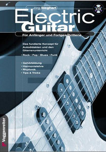 empfehlenswertes E-Gitarre Lehrbuch mit CD für Anfänger und Wiedereinsteiger