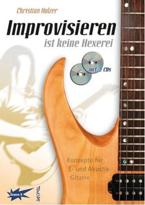 Lehrbuch mit 2 CDs zur Gitarrenimprovisation