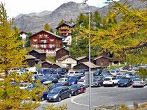 Parkplatz Saas Fee