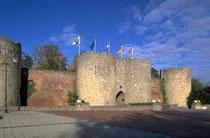 Péronne Somme le Chateau qui abrite l'Historial de la Grande Guerre