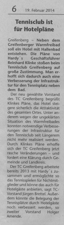 Artiekle auds Landsberger Tagblatt
