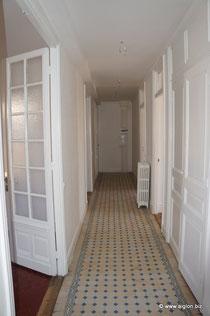 Le couloir central