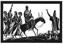 イスラエル入城 新約聖書