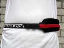 elastische Bauchtasche und Lauftasche