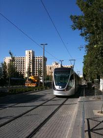 tramway a Jérusalem