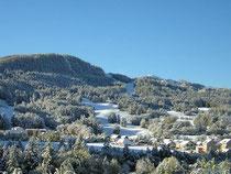 Station de ski familiale dans les Alpes