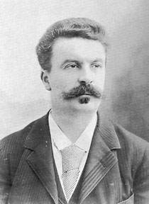Guy de Maupassant (1850-1893) / Quelle: Wikimedia Commons
