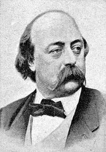 Gustave Flaubert (1821-1880) / Quelle: Wikimedia Commons