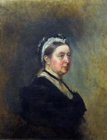 Queen Victoria, Gemälde von George Housman Thomas (1824-1868) / Quelle: Wikimedia Commons