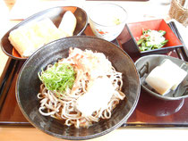 福井県 竹田の油あげ&おそばの定食
