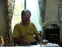 ご主人の野田昌志さん。