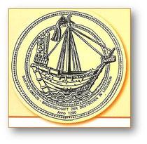 Emblema da Irmandade de S. Bartolomeu dos Alemães em Lisboa