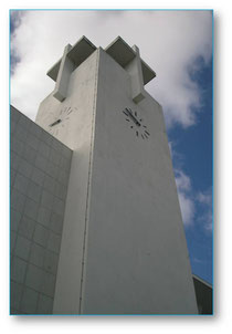 Torre da igreja da paróquia da  Serafina
