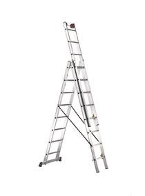 Alquiler escalera aluminio