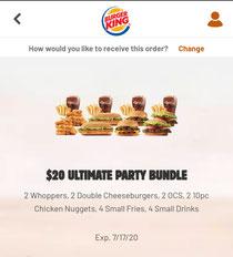 Burger King(バーガーキング)のお得クーポン