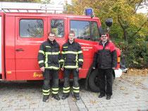 Zacher Thomas, Mittermeier Florian und KBI Pichlmeier Theo 12.10.2013