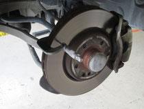 ブレーキローター測定