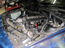 BMW X3 エンジンルーム